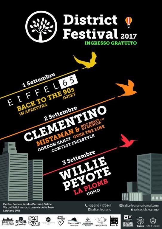locandina District Festival