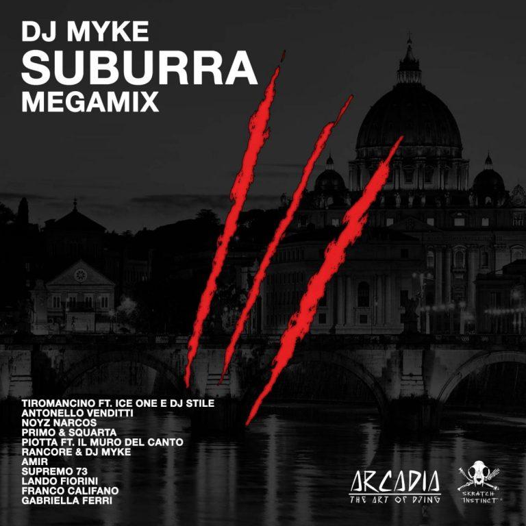 copertina DJ Myke Suburra megamix