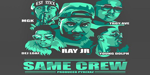 "Ray Jr. ""Same Crew"" (Remix): guarda il video"