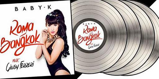"Quadruplo Platino per ""Roma - Bangkok"""