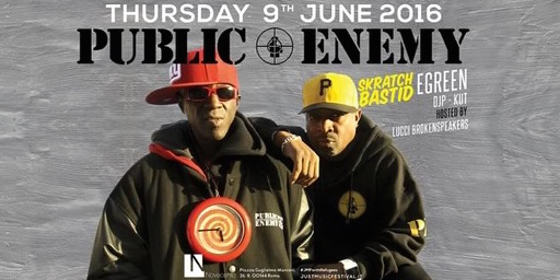 Public Enemy Live @ Roma