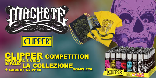 Clipper Machete Competition - 5 collezioni