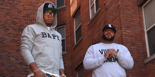 "Apollo Brown & Skyzoo nel video di ""On The Stretch & Bob Show"""