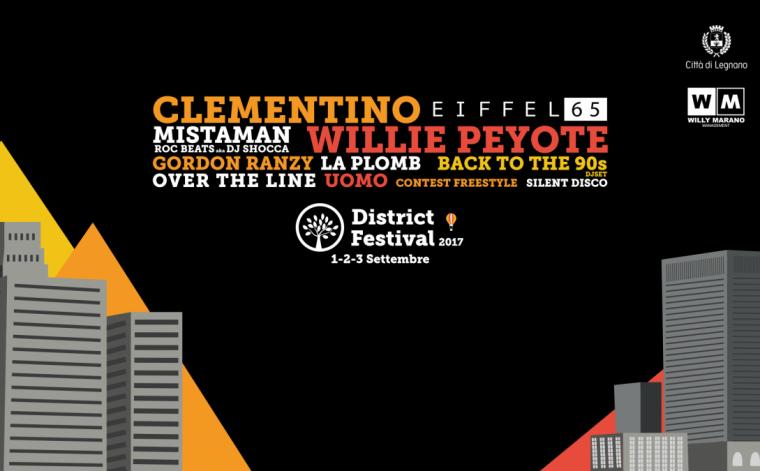 In palio 4 pass backstage per il District Festival di Legnano (MI) del 2-3/09