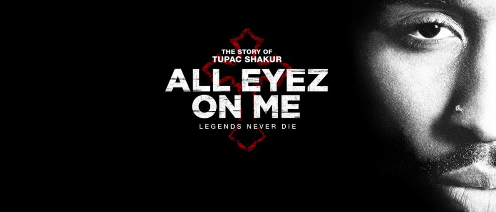 Locandina film 2Pac All Eyez on Me