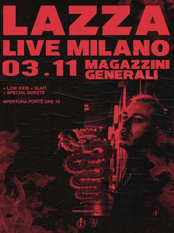 Lazza Milano Live