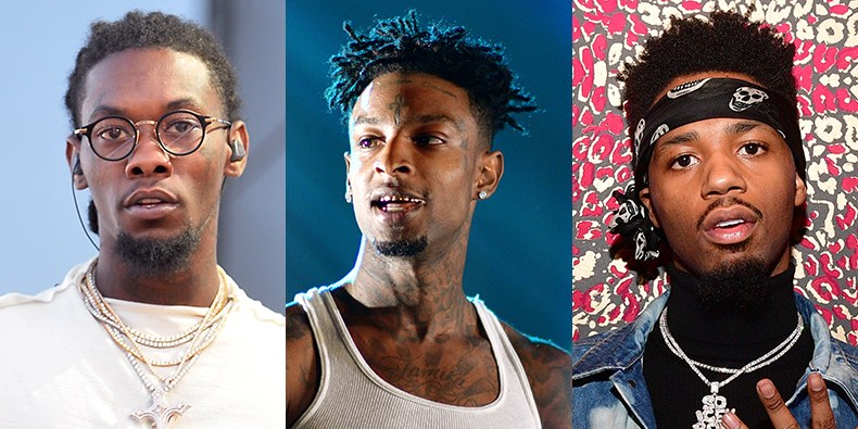 "21 Savage, Offset e Metro Boomin insieme in ""Without Warning"""