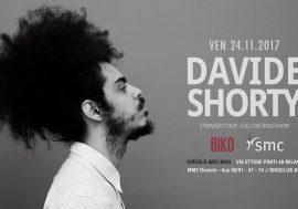 Partecipa e vinci i 5 biglietti in palio per il concerto di Davide Shorty il 24 novembre al Biko di Milano