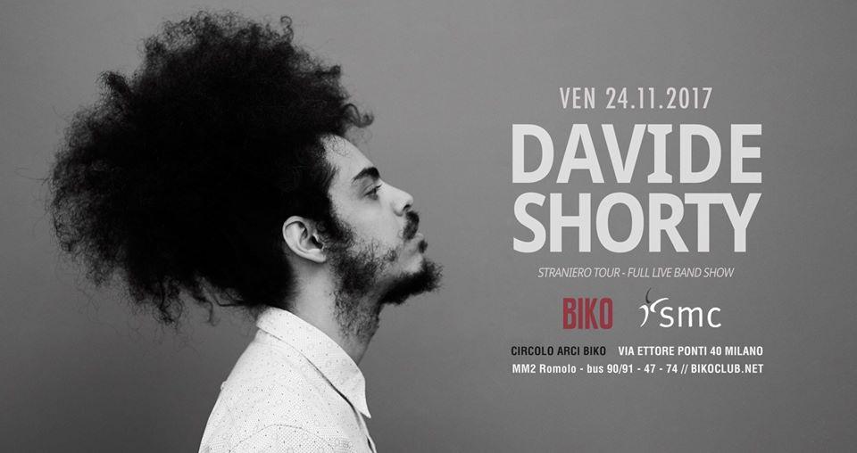 locandina Davide Shorty Biko Milano