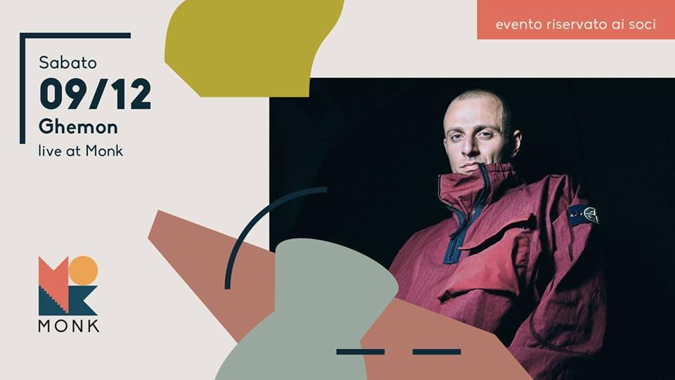 Partecipa e vinci i 5 biglietti in palio per il concerto di Ghemon il 9 dicembre al Monk di Roma