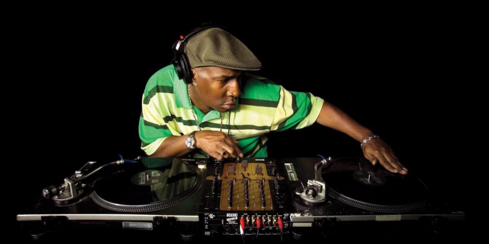 grand master flash in consolle