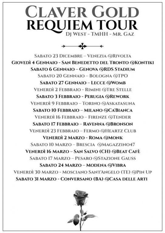 ClaverGold Tour Requiem