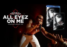 All Eyez On Me arriva in DVD e BLU RAY vinci una delle 3 copie in palio