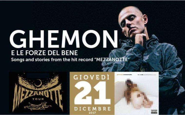 Vinci 2 biglietti in palio per il live di Ghemon del 21 Dicembre a Conversano (Ba)