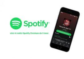 Spotify Competition vinci 4 codici Spotify Premium