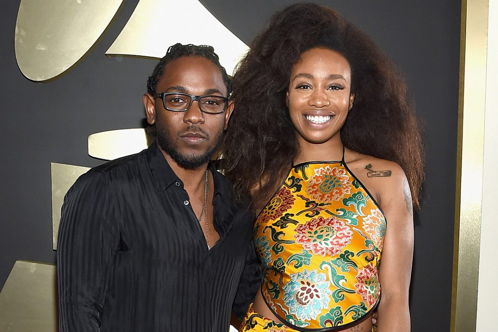 Kendrick Lamar e SZA nel video di All The Stars