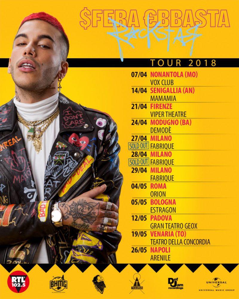 T Sfera Rockstar tour IG