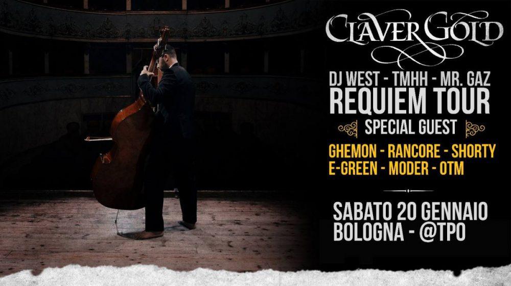 Claver Gold live TPO Bologna