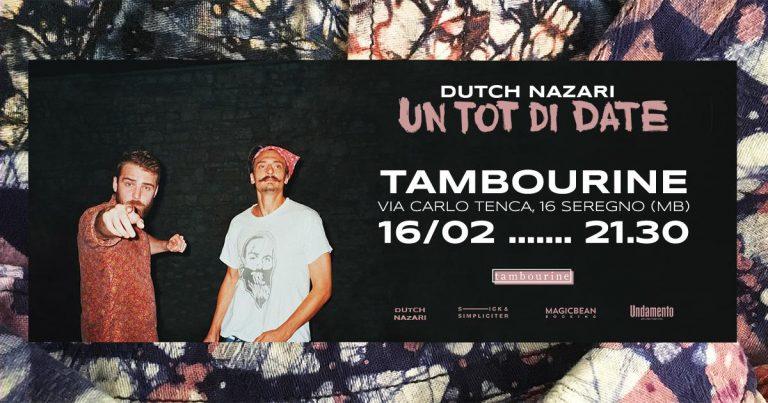 Dutch Nazari live Arci Tambourine Seregno