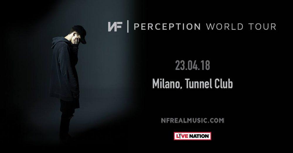 Vinci due biglietti per NF il 23 aprile al Tunnel Club di Milano