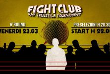 Domani sera a Roma il sesto round del Fight Club – Rap Freestyle Tournament
