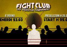 Domani sera a Roma il sesto round del Fight Club – Rap Freestyle Tournament