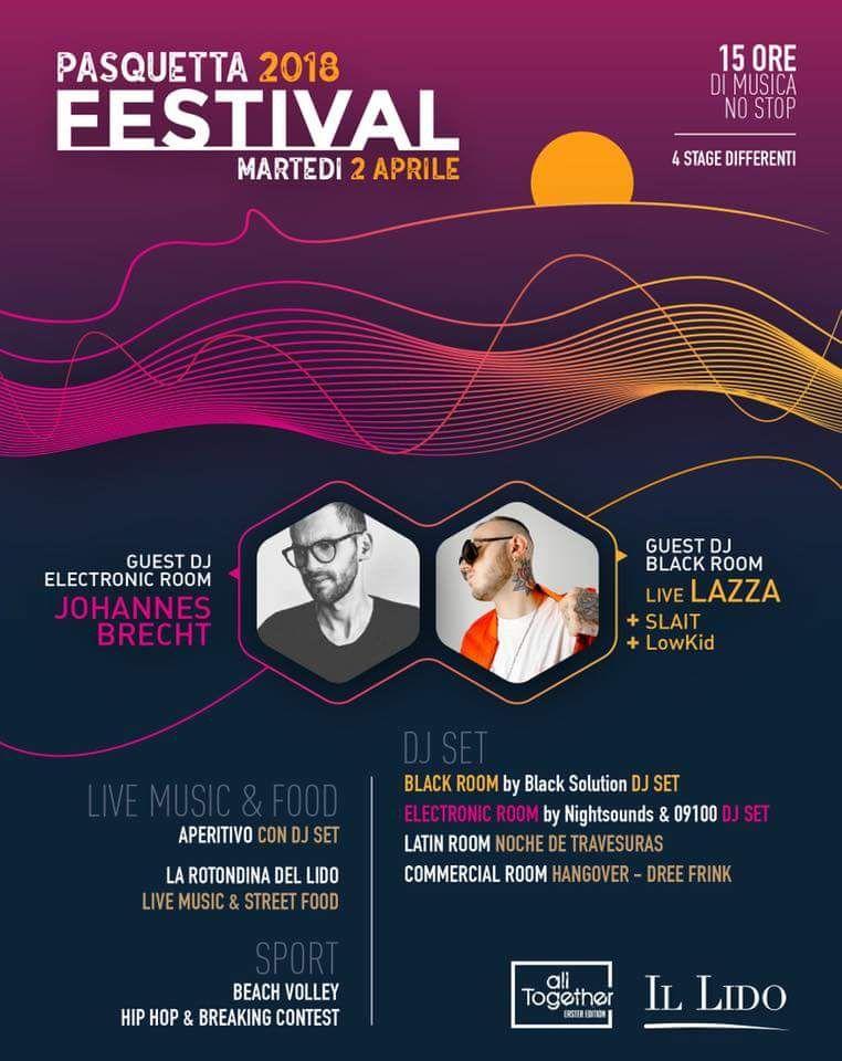lacasadelrap.com e All Together presentano Pasquetta Festival