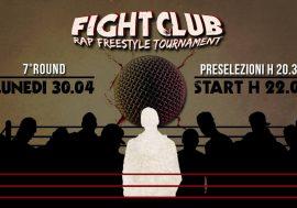 Arriva il settimo round del Fight Club Rap Freestyle Tournament