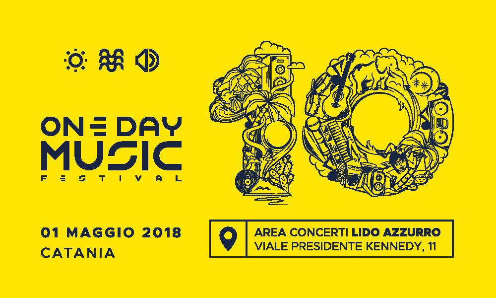 Vinci 2 biglietti per il One Day 2018 a Catania