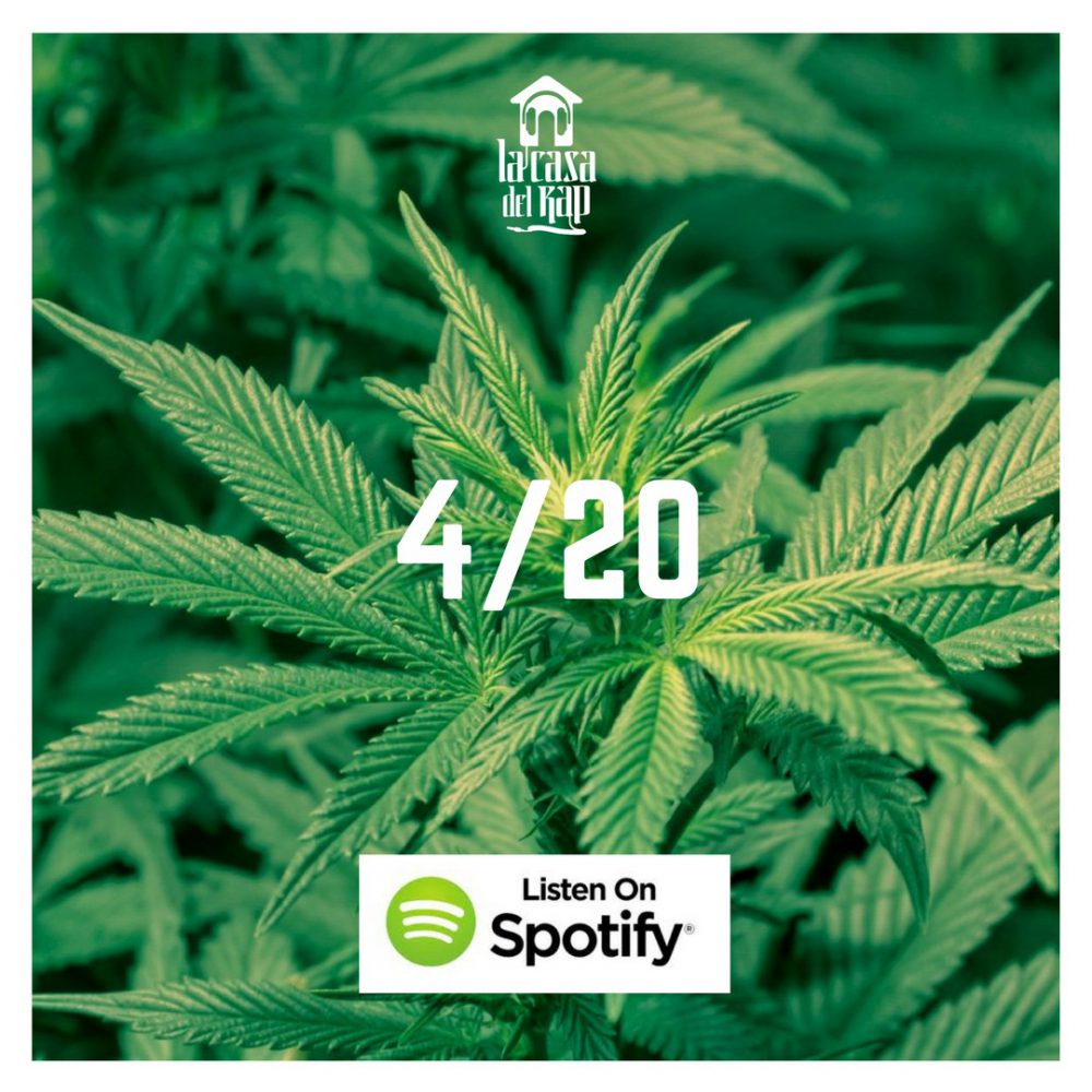 4/20, la playlist Spotify per il relax targata lacasadelrap.com