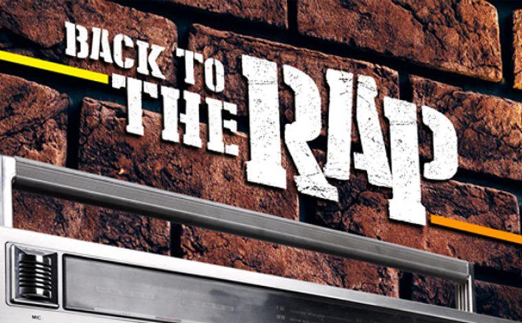 Back to the Rap in palio 4 copie della compilation in vinile 180 grammi