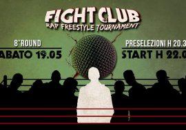 Arriva l'ottavo round del Fight Club Rap Freestyle Tournament
