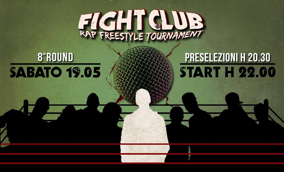 Arriva l'ottavo round del Fight Club Rap Freestyle Tournament