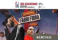 Vinci 2 biglietti per il live di Fabri Fibra e Gemitaiz del 30 giugno al Rugby Sound di Legnano