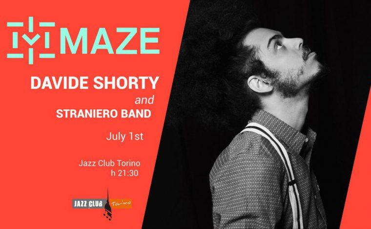 Vinci 2 biglietti per il live di Davide Shorty del 1 luglio al Maze Festival di Torino