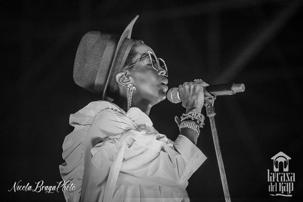 In 20.000 per Ms. Lauryn Hill all'Arena Cittadella (Parma)