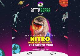 Vinci 2 biglietti per il live di Nitro, Dani Faiv e Slait del 21 agosto al Sottosopra Fest di Gallipoli