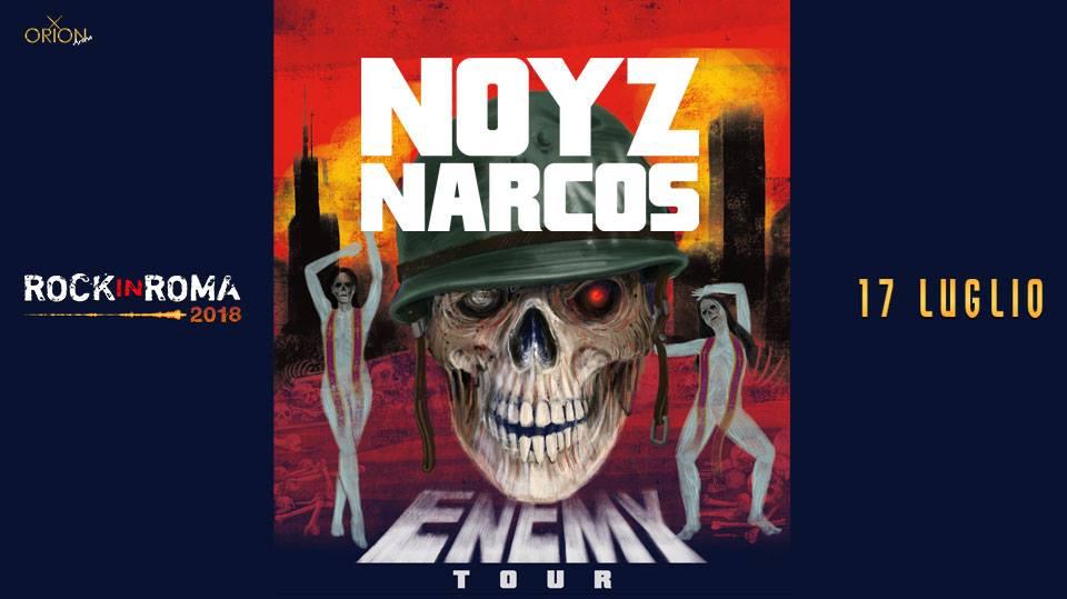Vinci 2 biglietti per il live di Noyz Narcos del 17 luglio @ Rock In Roma