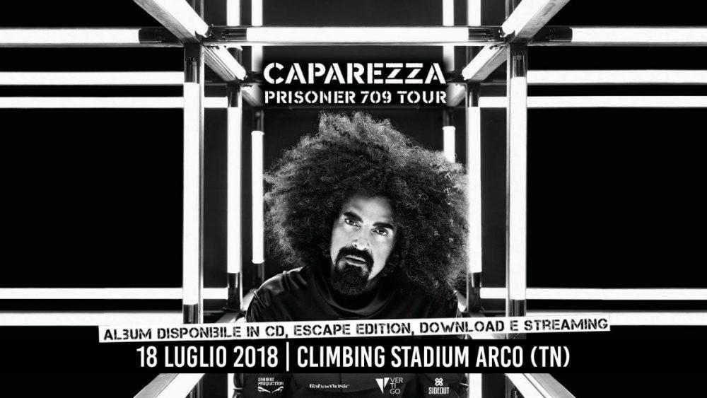 Vinci 2 biglietti per il live di Caparezza del 18 luglio al Climbing Stadium - Arco (TN)