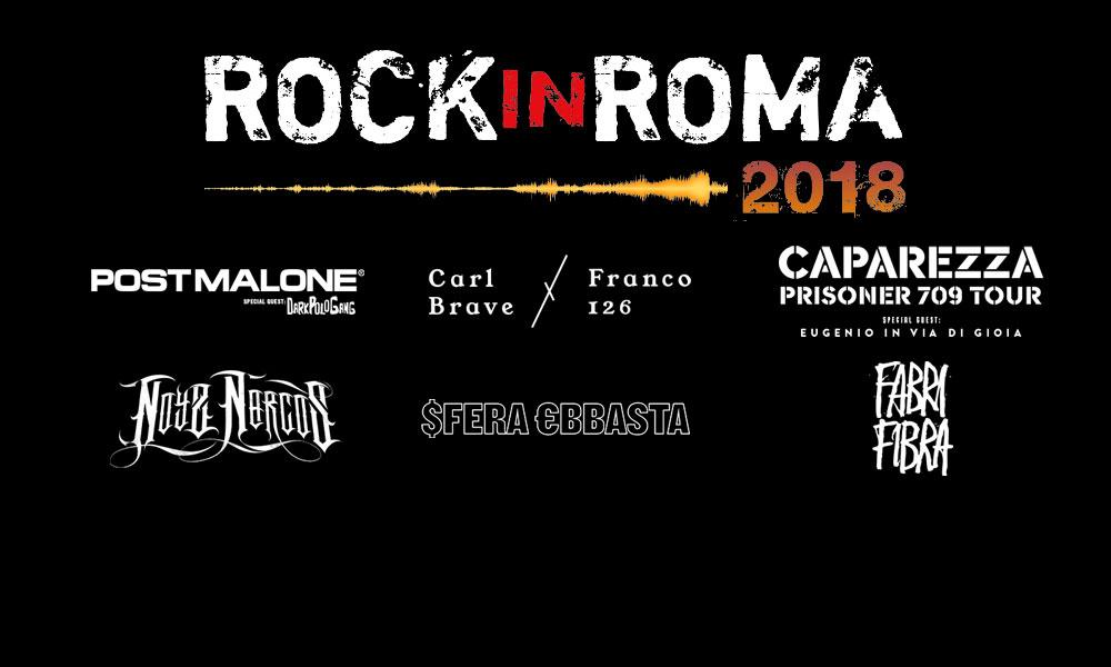 rock in roma line up rap