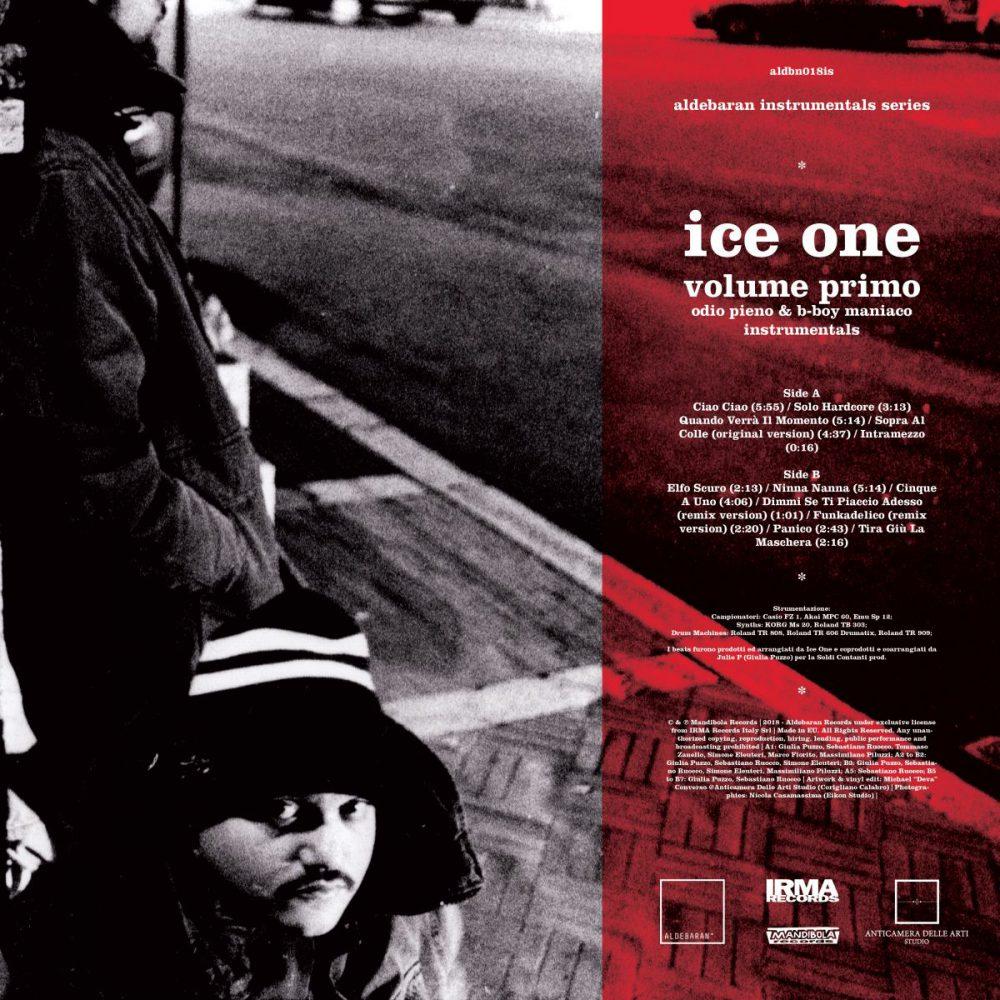 Aldebaran Instrumentals Series: arrivano in vinile le strumentali di Ice One da Odio Pieno & B-Boy Maniaco