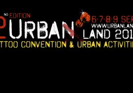 """Vinci 4 biglietti in palio per """"Urban Land"""" il festival della cultura metropolitanadal 6 al 9 settembre a Roma"""