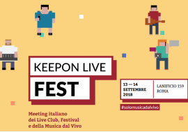 Keep On Fest: ecco la classifica dei vincitori del 2018