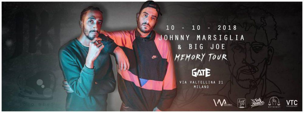 Quattro biglietti in palio per il live di Johnny Marsiglia & Big Joe a Milano