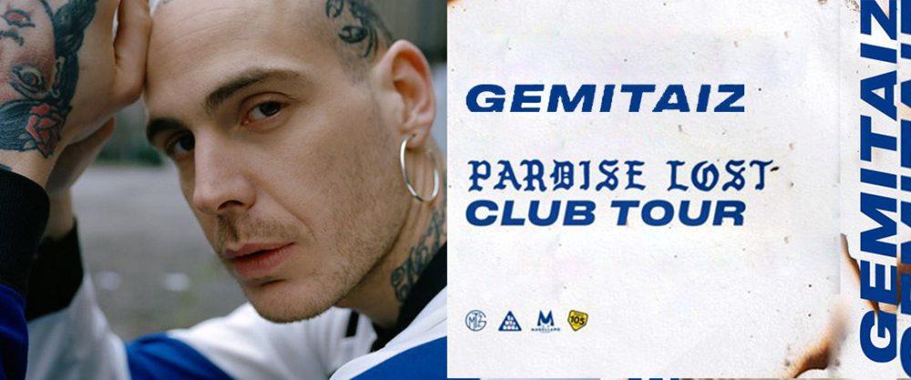 Fuori le date del Paradise lost club tour di Gemitaiz