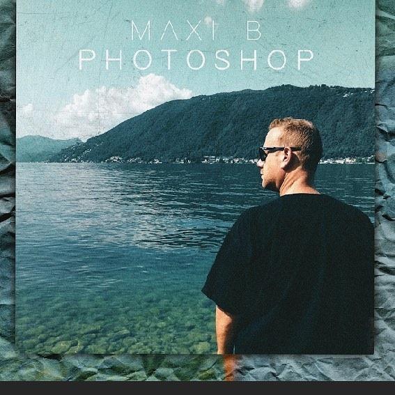 Niente filtri per Maxi B nel nuovo video Photoshop