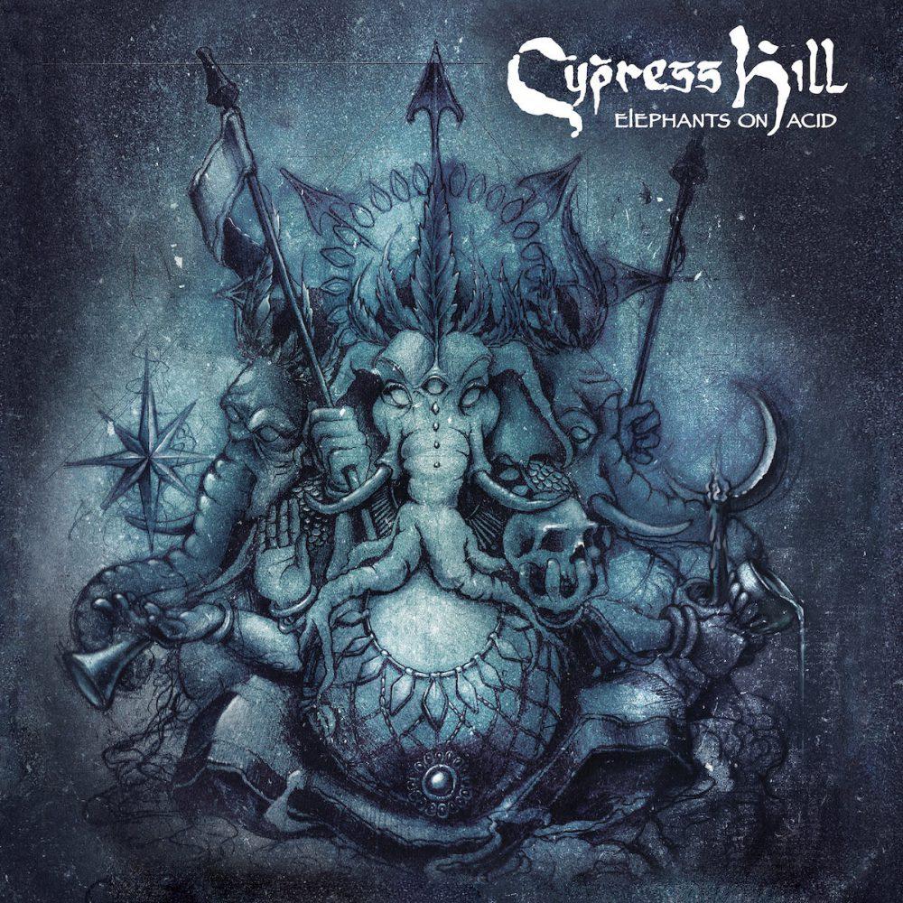 Cypress Hill Elephants on acid cover