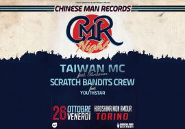 Vinci 4 biglietti per la Chinese Man Records Night a Torino