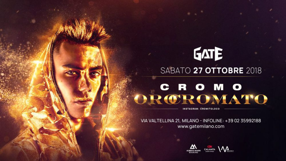 Quattro biglietti in palio per il live di Cromo a Milano