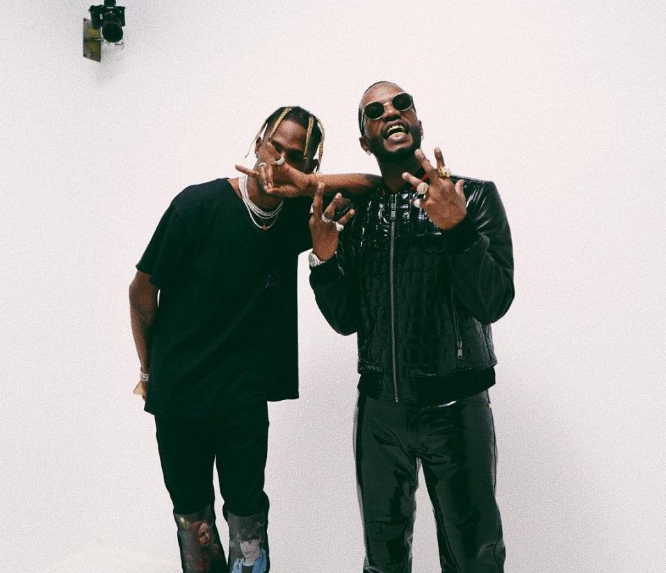 Juicy J e Travis Scott nel video di Neighbor